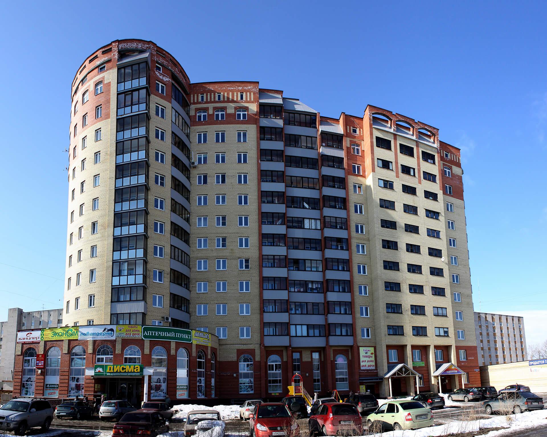 Жилой дом на ул.Северодвинская, 31