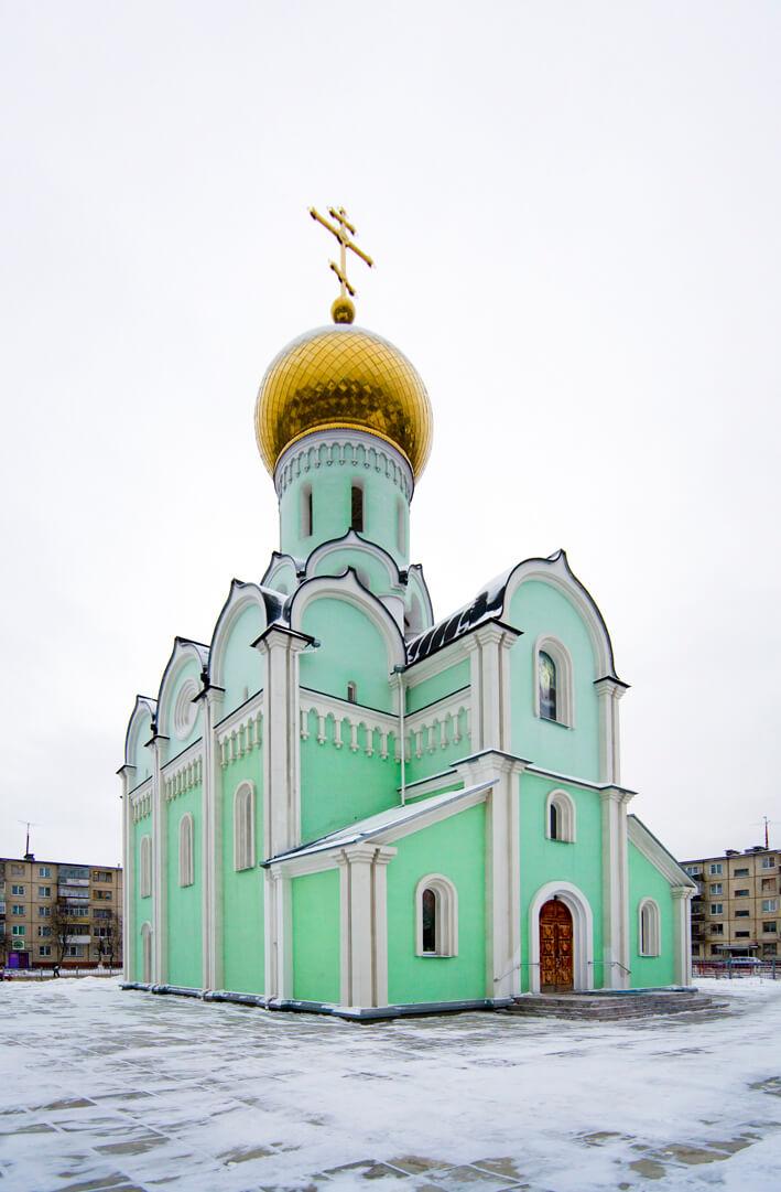 Церковь в г.Новодвинске